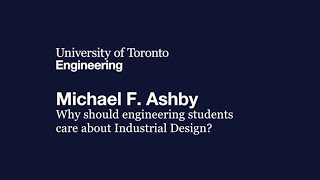 MSE 100th Anniversary Lecture Michael Ashby:Students and Industrial Design