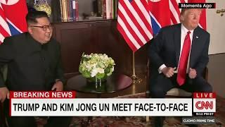 President Trump Meets Kim Jong-un in Singapore