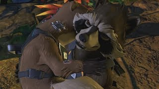 GUARDIANS OF THE GALAXY Telltale Episode 2 Rocket Raccoon's Past (All Flashbacks)