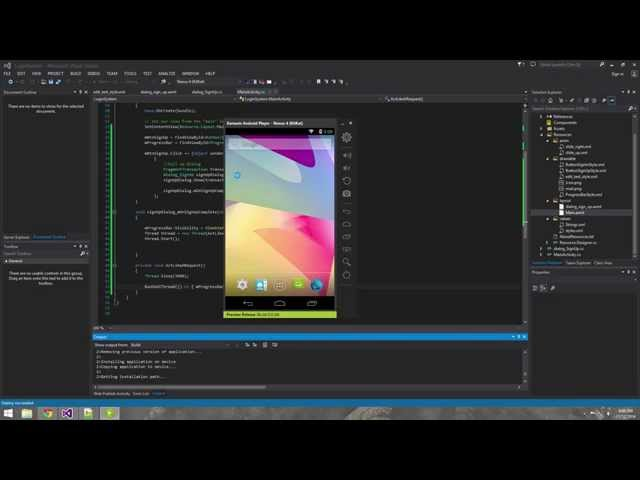 Xamarin Android Tutorial   9   C# Events