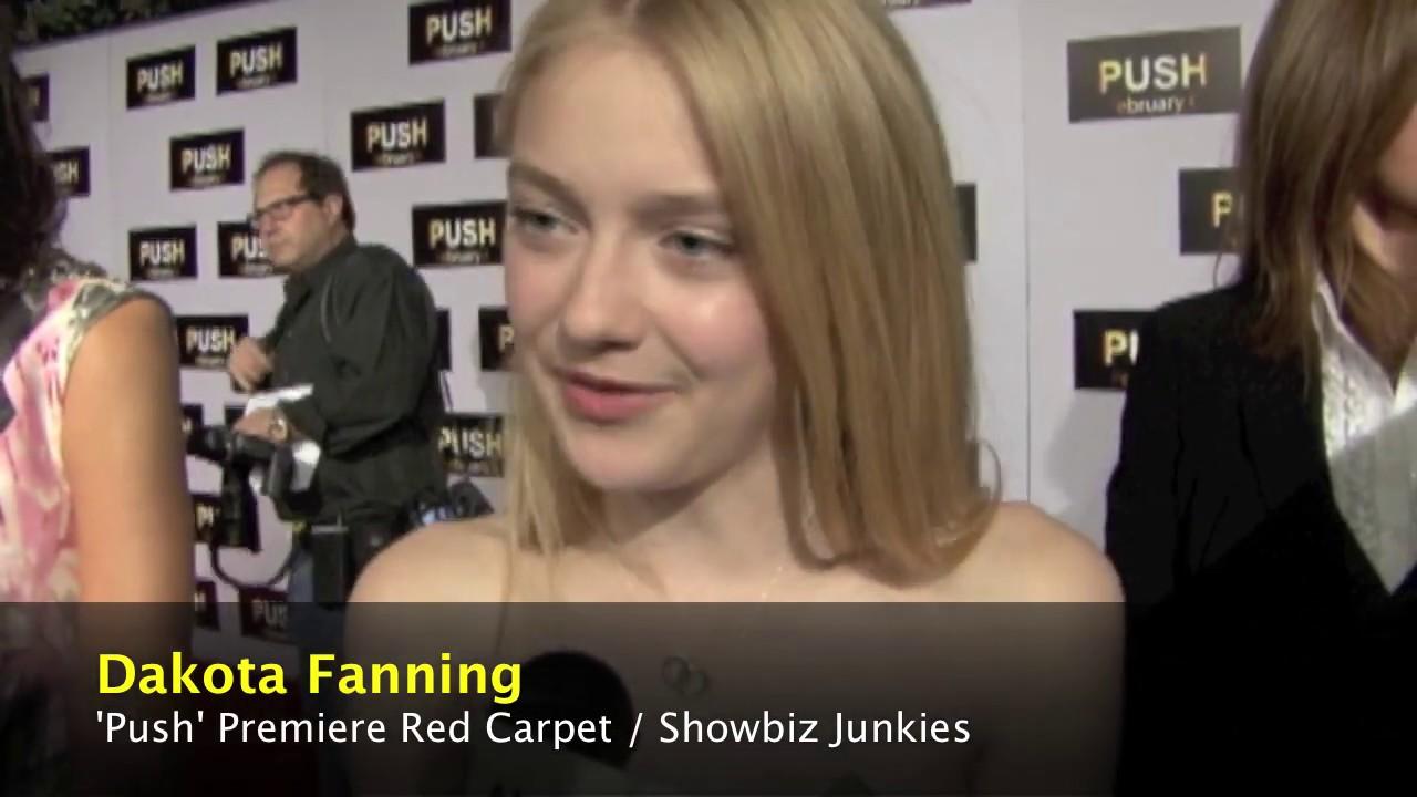 Dakota Fanning Interview - 'Push' - YouTube