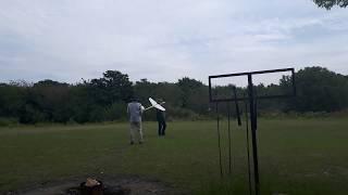 RC飛行機初心者が、1ヶ月かけて制作し、初飛行しました。 モーターは、...