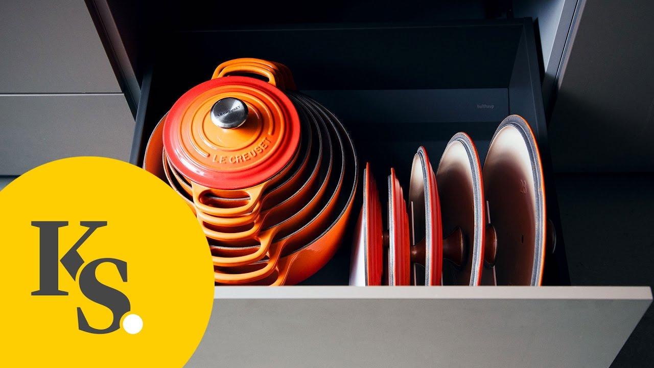Küchenorganisation leicht gemacht: Töpfe, Pfannen & Utensilien ...