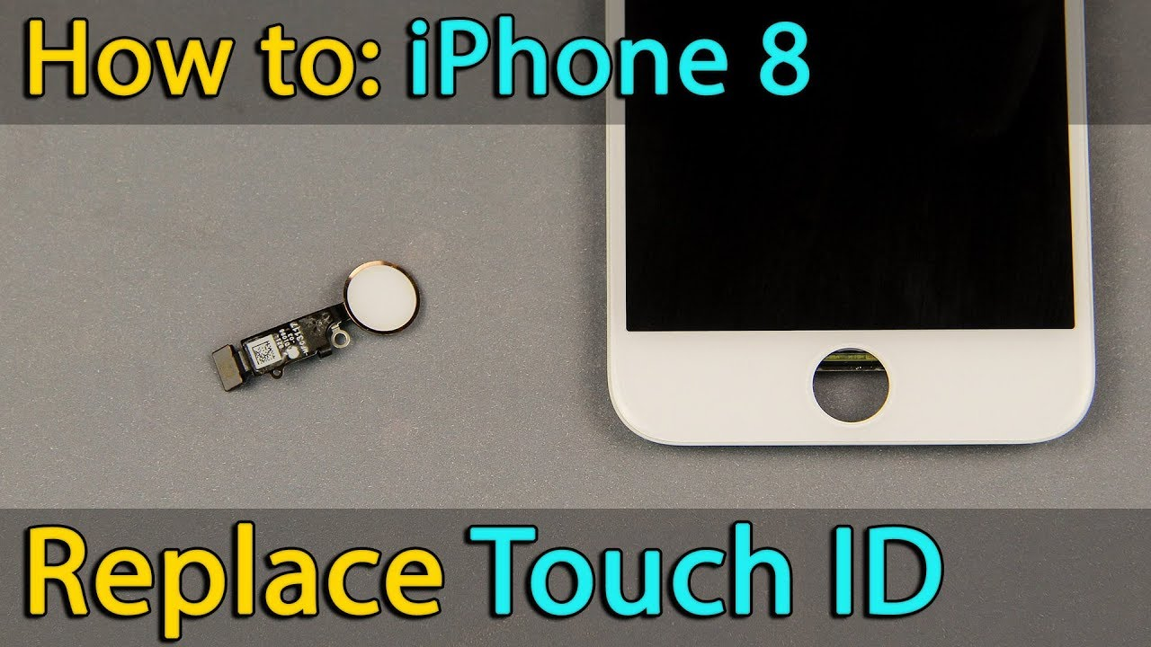 big sale 80655 08941 iPhone 8 Touch ID - home button replacement