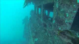 Outside The Bridge On The Ex Hmas Canberra Wreck