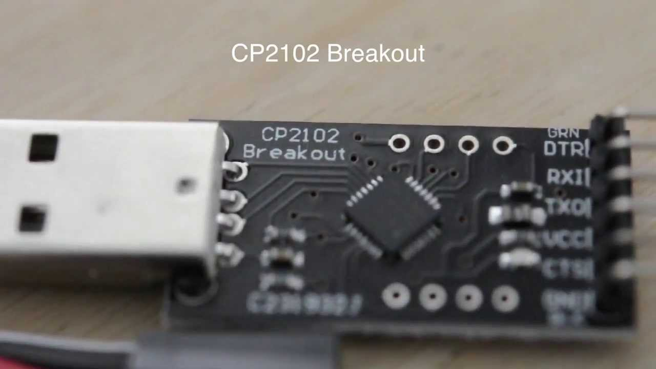 Review Cp2102 Breakout Board Youtube
