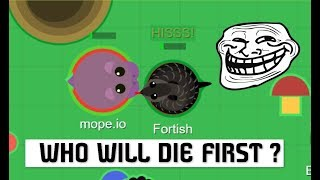 Mope.io // TO BE CONTINUED ... Mope.io bests and Funnys moments