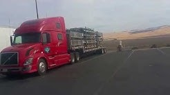 flat bed driving in Oregon First Time To Oregon