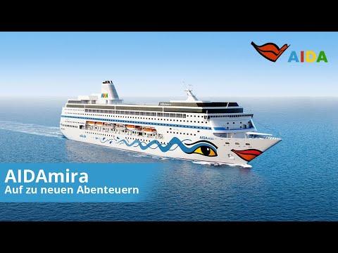 AIDAmira   Auf zu neuen Abenteuern