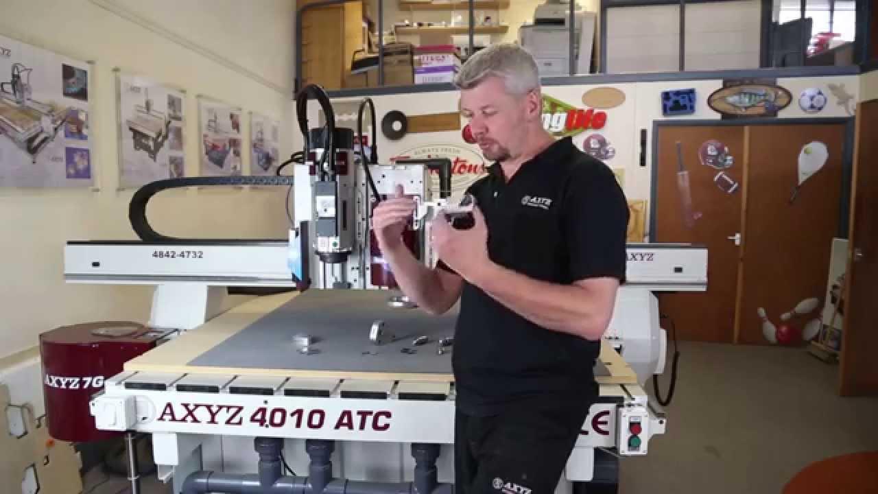 Tangential Knife | CNC Router | AXYZ International by AXYZ