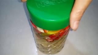 cách ngâm dấm tỏi ớt không bị xanh.