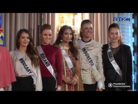 Ceremonial Presentation of the 65th Miss Universe Competition