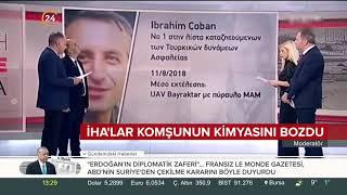 Yunan kanalı canlı yayınında Türk İHA ve SİHA'ları övüldü