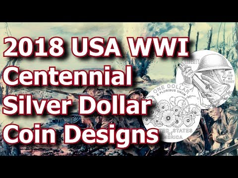 US Mint Reveals Designs for 2018 Veterans Silver Dollar