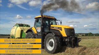JCB Fastrac 8250 Krone Big Baler