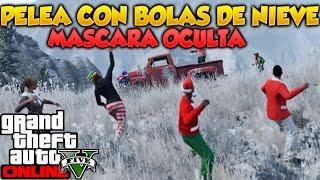 GTA 5 Online Filtrado Mascara Oculta y Gameplay de Bolas de Nieve GTA V Online