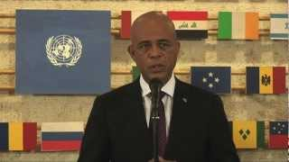 FAO Director-General and Haitian President urge increased investment in Haiti