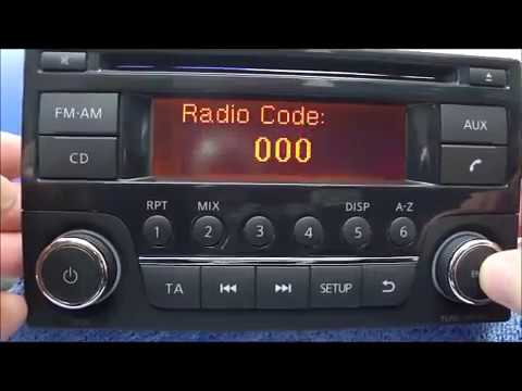 Enter Daewoo Radio Code Procedure - YouTube