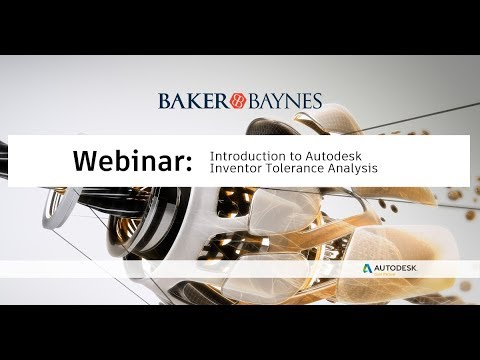 An Introduction To Autodesk Inventor  Tolerance Analysis
