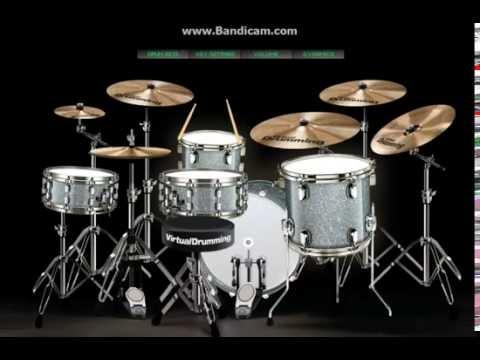 lagu Manggarai Nuk Wero D'CIBAL  (virtual drum cover) by; yanto rame