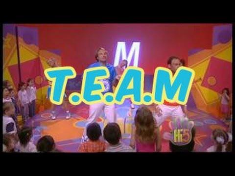 T.E.A.M - Hi-5 - Season 7 Song of the Week