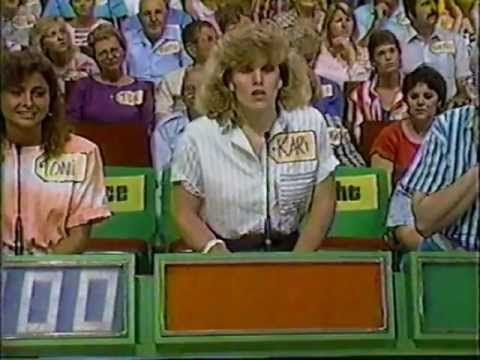 "Toni on ""Price is Right"" game show mid 1980"