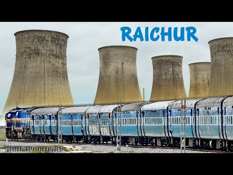 RAICHUR from Train (RTPS) | KURLA Express | Indian Railways