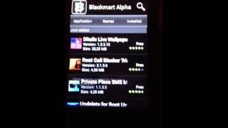 Comment cracker la play store avec Black Mart alpha(android