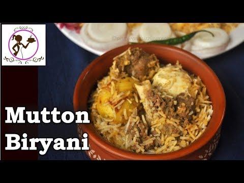 Kolkata Style Mutton Biryani Recipe | Bengali Mutton Biryani Recipe | Step By Step Recipe Video