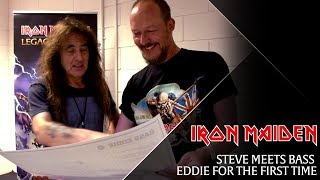 Iron Maiden - Steve meets 'Bass Eddie'