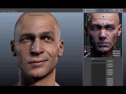 3D Facial Rig Manager for Maya & 3ds Max by Snappers Systems - Character Rigging Demo Reel