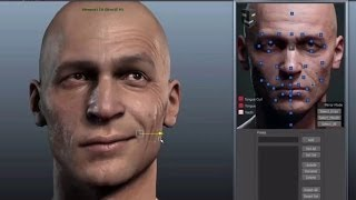 3d facial rig manager for maya 3ds max by snappers systems character rigging demo reel