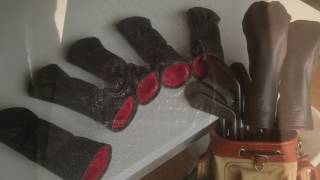 Leather headcovers