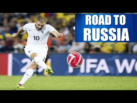 KARIM BENZEMA- ROAD TO FIFA WORLD CUP RUSSIA 2018