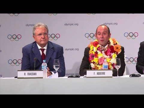 Olympics: IOC names five new sports for Tokyo 2020