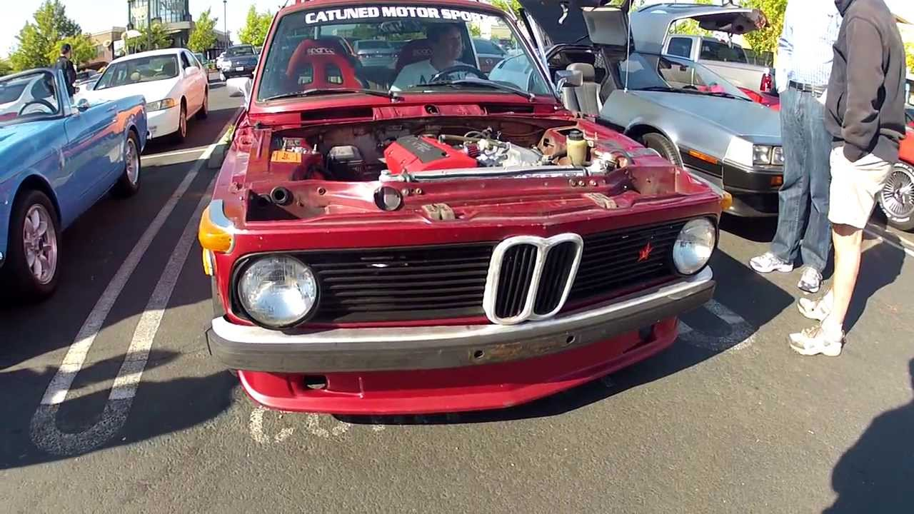 Bmw 2002 With S2000 F20c Swap Revving It Out Youtube