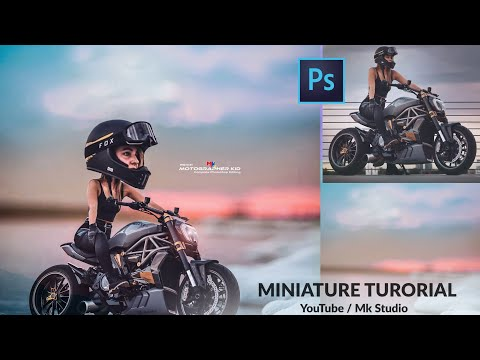 How Can We Create A Miniature In Photoshop   Motographer_kid_   Photoshop Editing Tutorial Malayalam