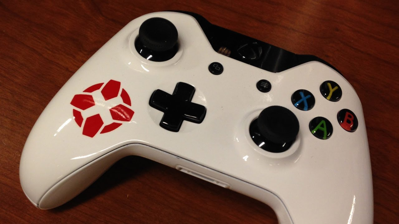 Xbox One Unboxing Custom IGN Controllers YouTube