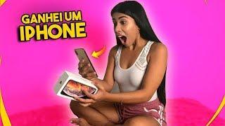 GANHEI UM IPHONE XS MAX DE PRESENTE !!