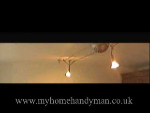 HANDYMAN tips and how to's-correct light fittings