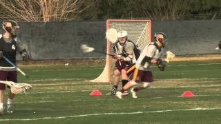 Lacrosse: Berns Takes on Role of Defensive Captain