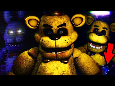 ATTACKED BY NEW REMASTERED ANIMATRONICS... || Five Nights at Freddy's Remake