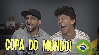 ALOPRANDO A COPA DO MUNDO INTEIRA! ft  THIAGO VENTURA