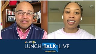 Allyson Felix continuing Olympic journey: 'The goals are still there' | Lunch Talk Live | NBC Sports