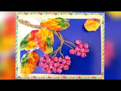 Поделки из рябины своими руками для детского сада