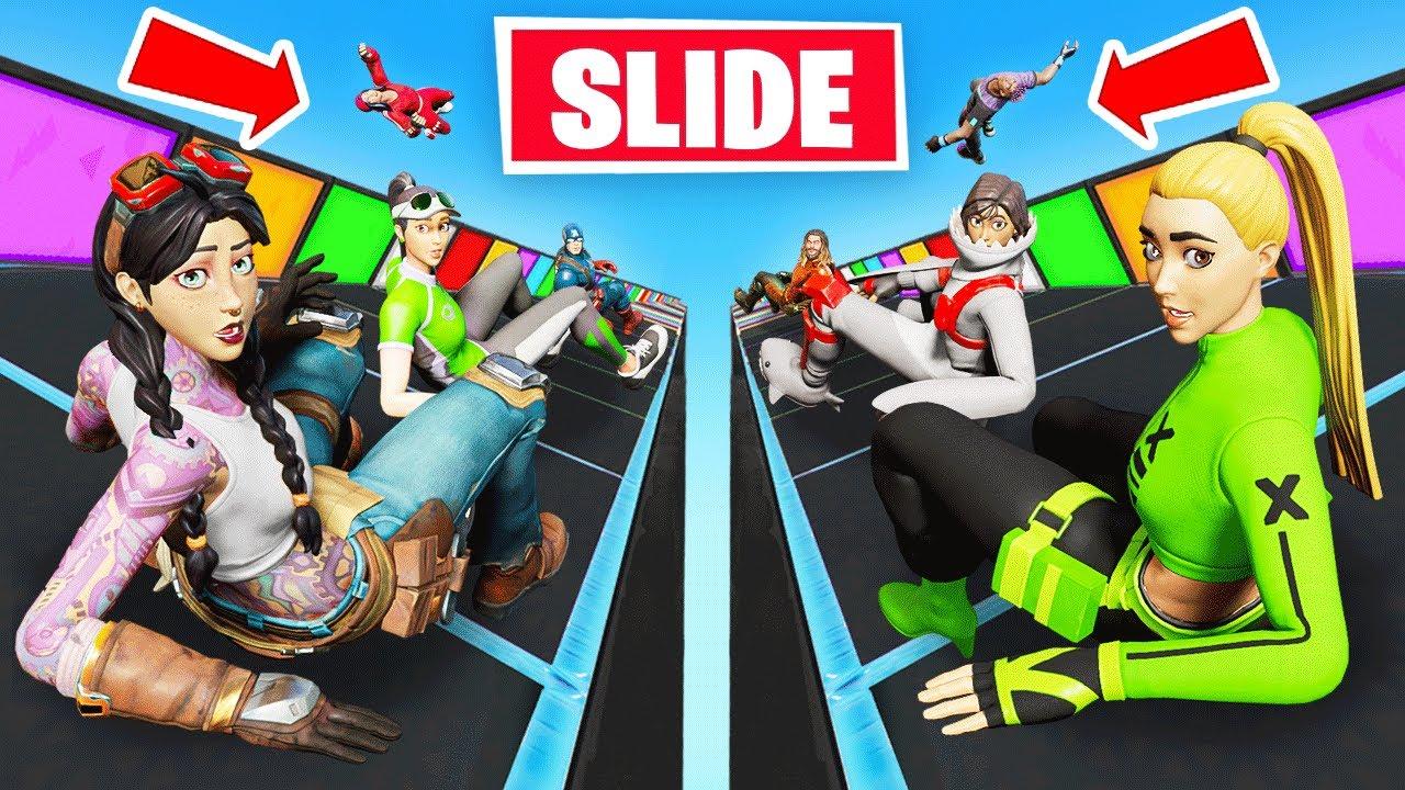 Download 4v4 LOOT SLIDE in Fortnite Battle Royale