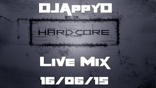 Live Mix - DJAppyD - UK Hardcore - 16/07/15 (NEW Tracks Coming Up!!)