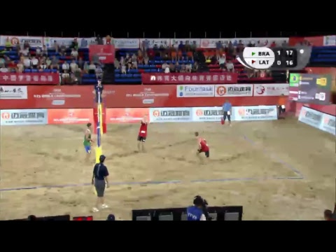Adrielson Dos Santos Silva/Renato Andrew Lima de Carvalho vs. Kristaps Smits/Mihails Samoilovs