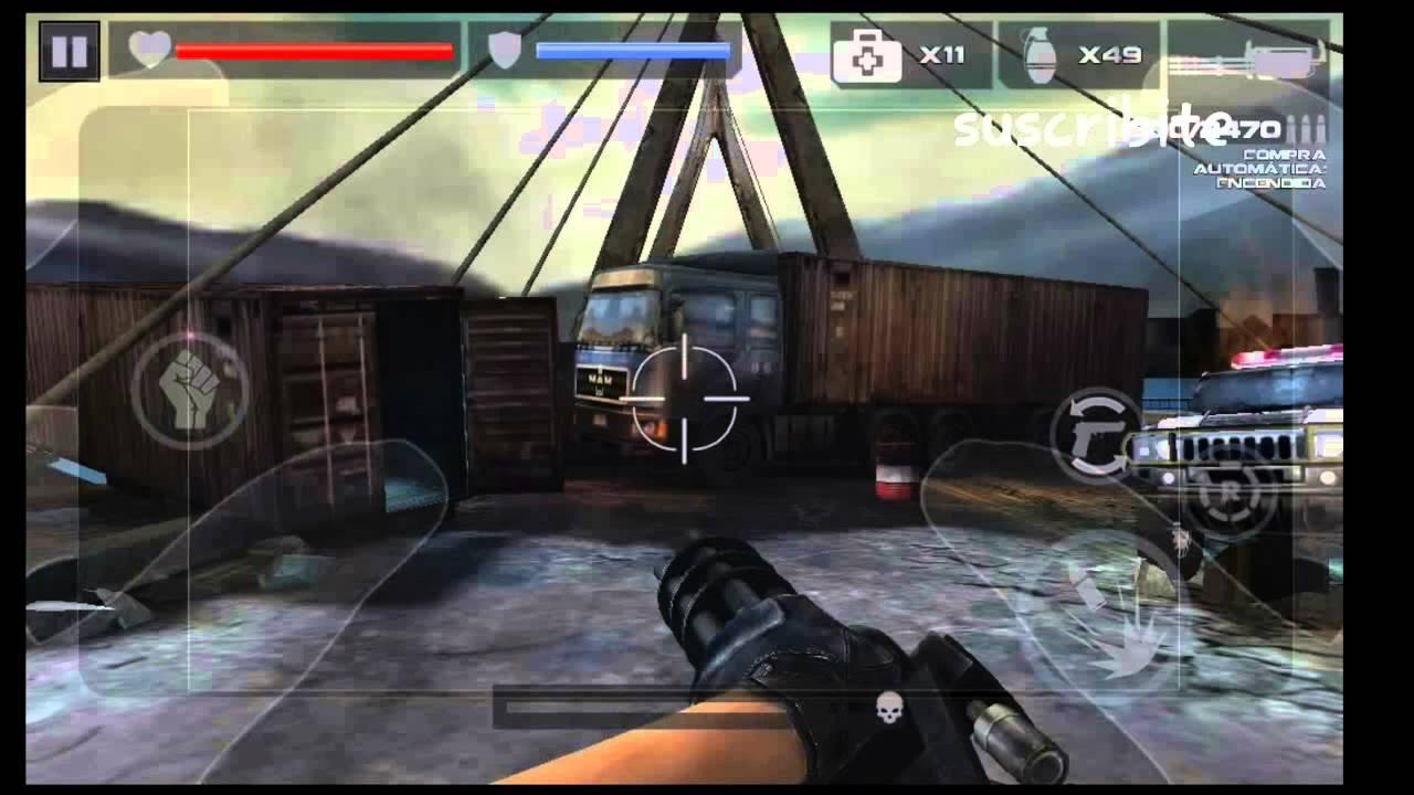 Dead Target Exelente Juego De Zombies Para Android 2014 Hack De