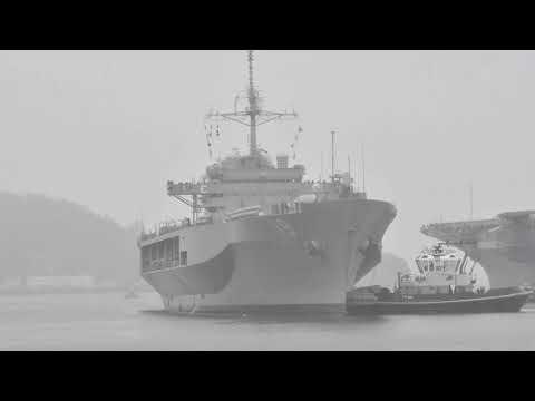 USS Blue Returns to Yokosuka after Spring Patrol 2021